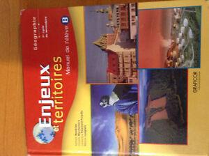 Enjeux et territoires, manuel B West Island Greater Montréal image 1