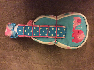Guitar diaper cake baby shower gift
