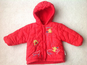 Barely used in great condition spring jacket size 12-18 months