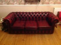 3 Seater Chesterfield Sofabed