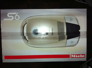 Miele Vacuum. Continuum model S6 -- Brand new
