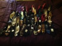 Hi lot of ladies shoes new 66 pairs Rrp £1300