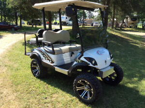One of a kind Super Nice Gas Golf Cart Yamaha