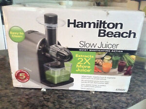 Brand new/never used HB Juicer