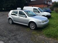VOLKSWAGON GILF 1.8 GTI TURBO 6 SPEED 52 PLATE