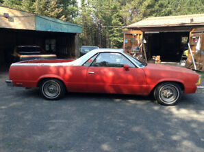1980 El Camino for sale! $6500 OBO! Text or cal 629-7709.