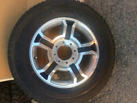 "Ford Superduty 20"" Harley Davidson Rims and tires"