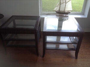 Coffee and end tables ReDuced