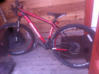 Specialized cross country bike