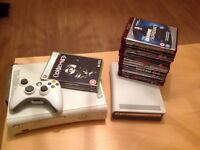 Xbox 360 console, Xbox HD DVD player and extras