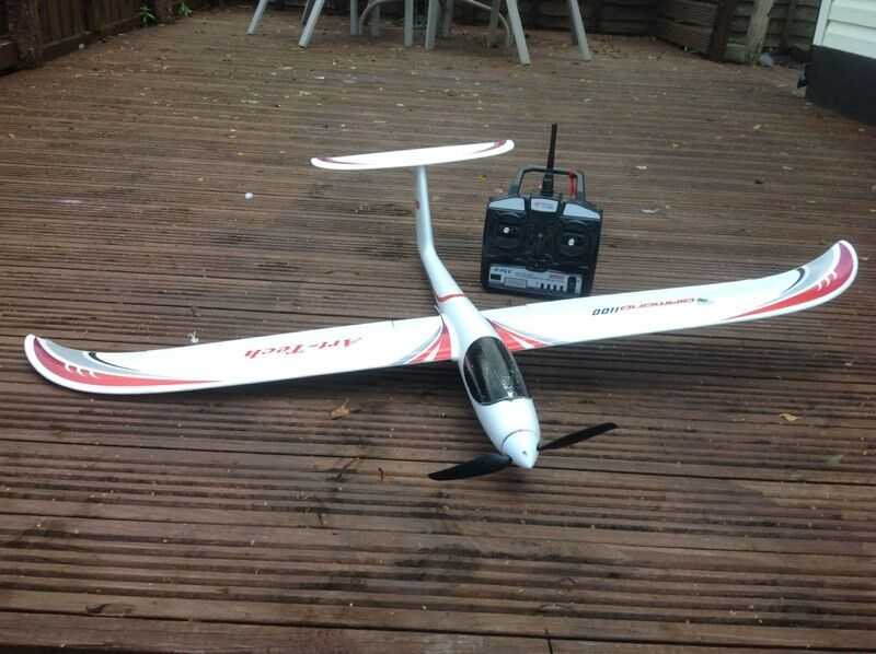 Radio controlled electric glider