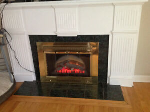 electric Fireplace Insert/Heater
