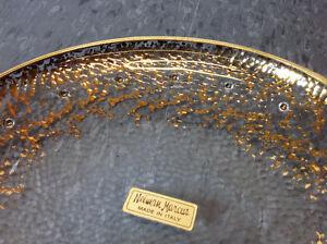 Set of 4 - hand painted 24K gold Neiman Marcus plates Cambridge Kitchener Area image 2