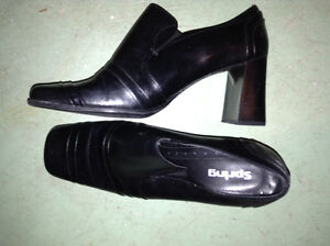 Ladies leather dress shoes for sale London Ontario image 1