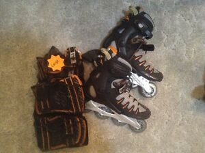 Men's Bio Dynamic Roller Blades and Pads