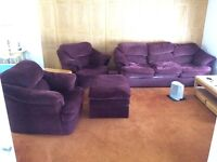 Great Couch, 2 Chairs and Matching Ottoman