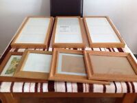 3 ikea frames & 4 other