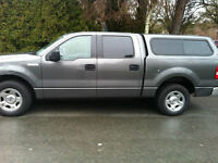 2008 Grey Ford F150 XLT CREW Cab Short Box – Low KM 72, 000 – In
