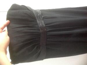 full length black gown size 8/10