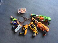 NERF gun bundle £25