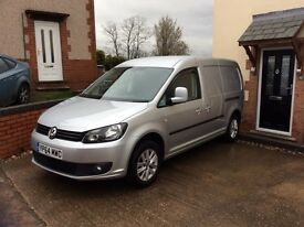 Volkswagen Caddy Maxi Highline 2014 C20TDI 1 Owner