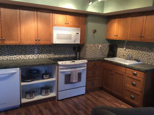 Sunny ground level Suite in Kettle Valley