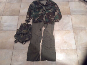 Army Costume with Genuine U.S Army Top