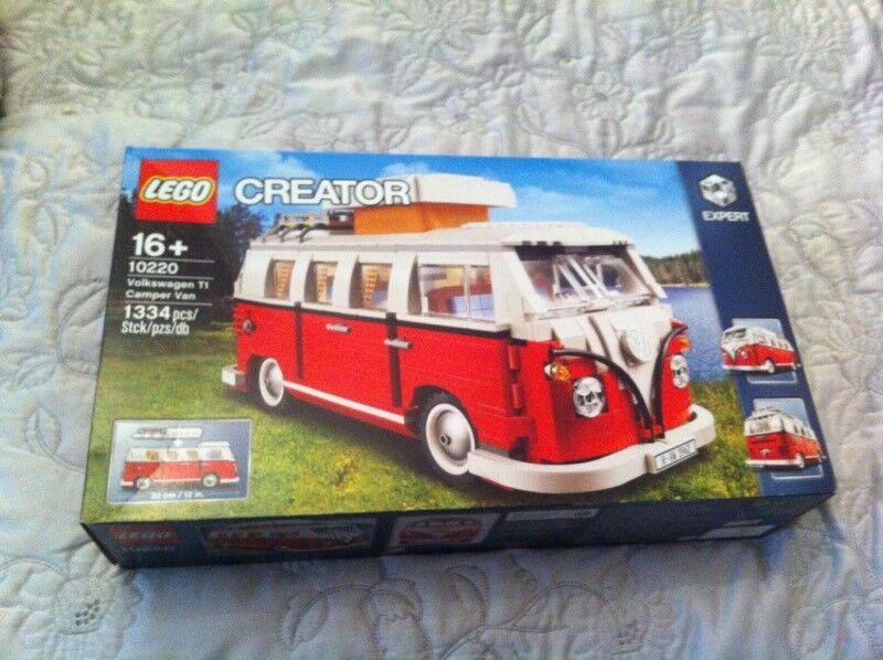 new lego creator 16 10220 volkswagen t1 camper van 1334. Black Bedroom Furniture Sets. Home Design Ideas