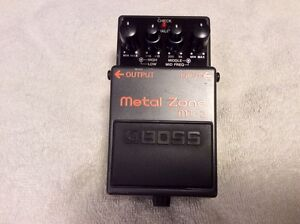** BOSS  MT-2 DISTORTION PEDAL - NEAR MINT! FOR TRADE or SALE