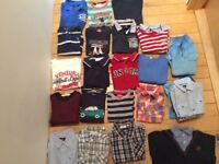 Big box of boy clothes for 2-6 year old