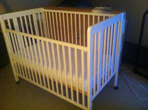 Baby Crib and High Chair  for sale