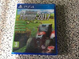 Professional farming simulator 17 PS4