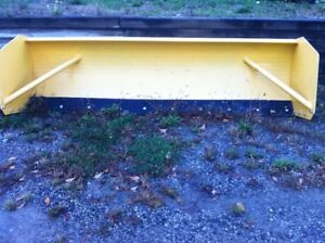 10' pusher/box plow for skid steer