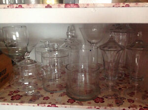 Candy Jars for Sale - new price - MUST GO