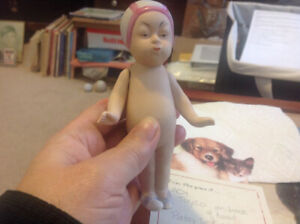 Antique Chinese All Bisque Doll