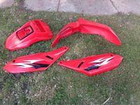 Plastic set for KLR 650- gotta go, make an offer!