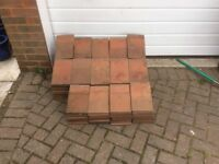 Peg Tiles - re-claimed - Approx 200