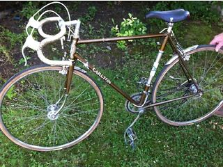 Carlton retro road bike