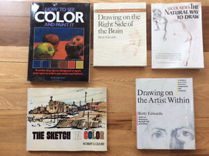 Books on developing the artist within.