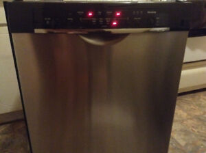 BOSCH ASCENTA STAINLESS STEEL DISH WASHER