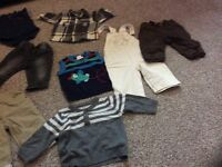 Boys 3-6months clothing bundle 13 items