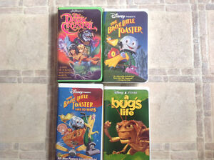 VHS - Tapes - $5.00 EACH