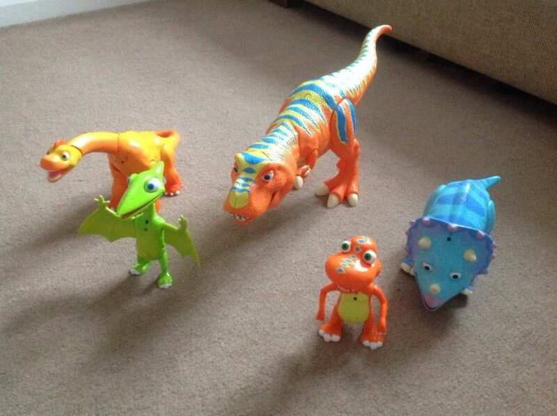 Dinosaur Train Figures