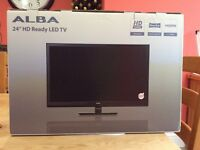 "24"" led tv with DVD player PINK bnib"