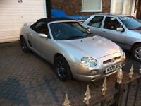 Mgf 11 month mot just been serviced and new tyres