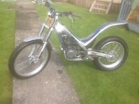 Sherco trials bike 290 cc,in very good condition with log book,2005