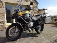 BMW R 1200 GS ADVENTURE ONE OWNER