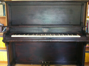 Beautiful Canadian Made Piano with Seat