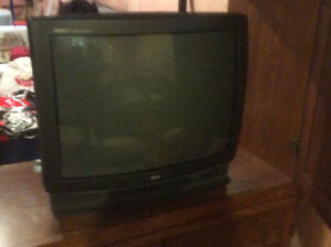 "Old style  26"" RCA TV. Works fine."