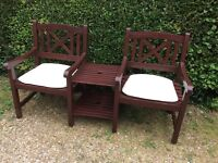Quality Hard Wood Companion Seat/Bench